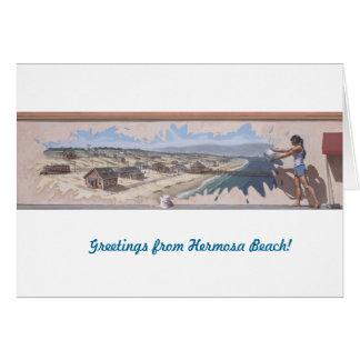 """Gruß Cards~ Wandgemälde #2: Hermosa """"Spritzen """" Karte"""