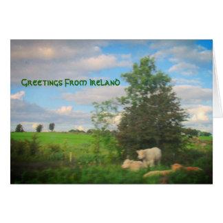 Grüße aus Irland Karte