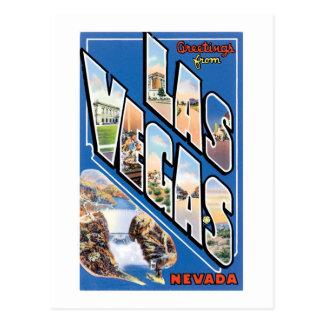 Grüße von Las Vegas! Postkarte