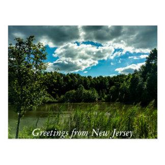 Grüße von New-Jersey Postkarten
