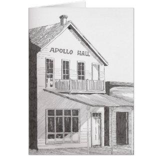 Grußkarte Apollo Hall
