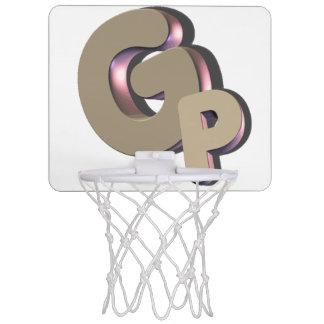 GSN GODPLAYS Minibasketball-Netzlogo Mini Basketball Ringe