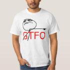 GTFO gehen Typ-Raserei-Gesichts-Comic Meme hinaus T-Shirt