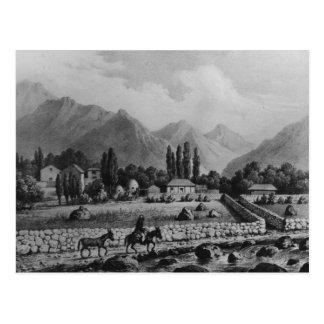 """Guanta, von """"Historia de Chile"""", 1854 Postkarte"""