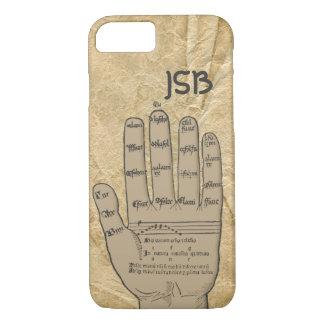Guidonian Hand, mittelalterliche Musik-Theorie iPhone 8/7 Hülle