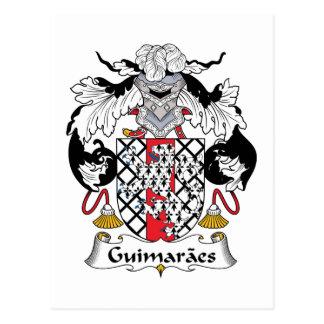 Guimaraes-Familienwappen Postkarte