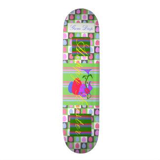 Gummi-Tropfen-Skateboard Individuelle Decks