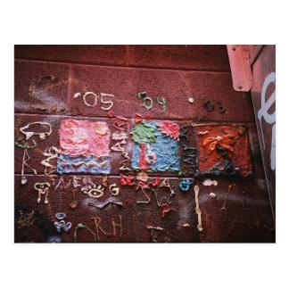 Gummi-Wandgemälde Postkarte