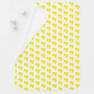 Gummienten-Muster-Baby-Decke Babydecke