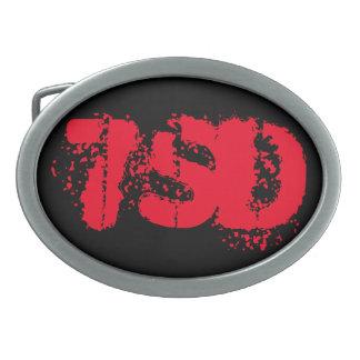 Gürtelschnalle rotes 7SD
