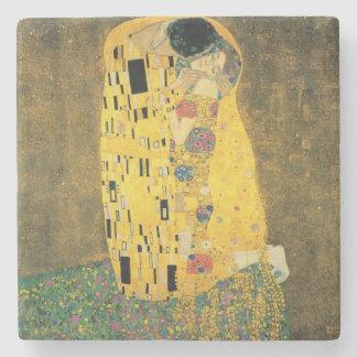 GUSTAV KLIMT - Der Kuss 1907 Steinuntersetzer