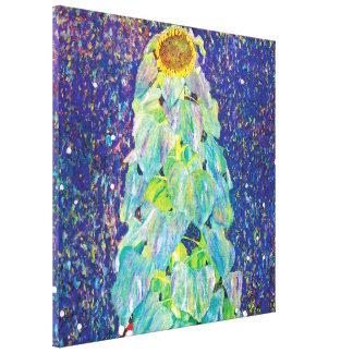 Gustav Klimt - die Sonnenblume-Kunst-Malerei Leinwand Drucke