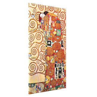 Gustav Klimt - die Umarmung - Kunst-Malerei Leinwand Drucke