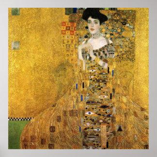 GUSTAV KLIMT - Portret van Adèle Bloch-Bauer 1907 Poster