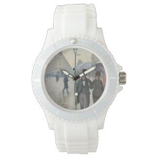 Gustave Caillebotte - Paris-Straße; Regnerischer Uhr