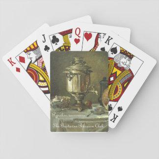 Gustavus russischer Teesamovar-Spielkarten Spielkarte