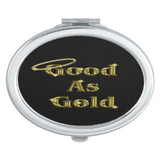 Gut als Gold Schminkspiegel
