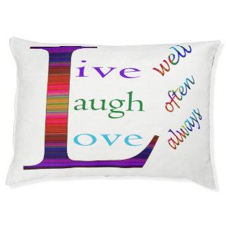 Gut, lebt Lachen häufig, Liebe immer Haustierbett