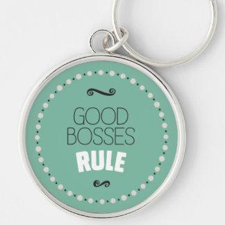 Gute Chef-Regel - Grün Schlüsselanhänger