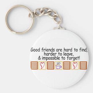 Gute Freunde Schlüsselanhänger