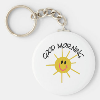 Guten Morgen Schlüsselanhänger