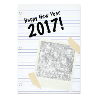 Guten Rutsch ins Neue Jahr 2017 8,9 X 12,7 Cm Einladungskarte