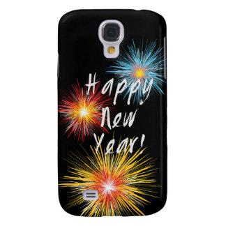 Guten Rutsch ins Neue Jahr-Feuerwerk Galaxy S4 Hülle