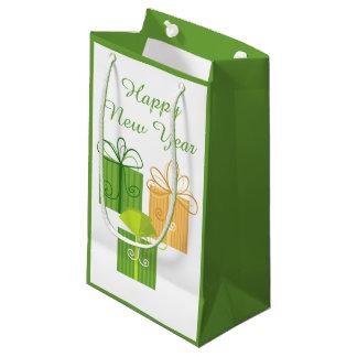 Guten Rutsch ins Neue Jahr-Geschenk-Tasche Kleine Geschenktüte