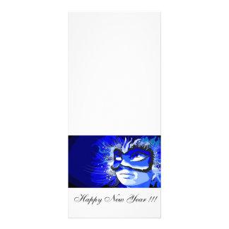 Guten Rutsch ins Neue Jahr Werbekarte
