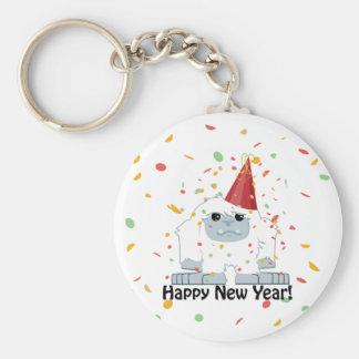 Guten Rutsch ins Neue JahrYeti Schlüsselanhänger