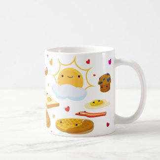 Gutenmorgen-Frühstück! Kaffeetasse