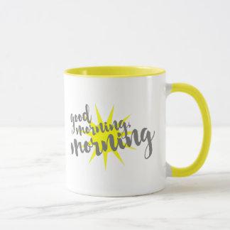 Gutenmorgen, Morgen Tasse