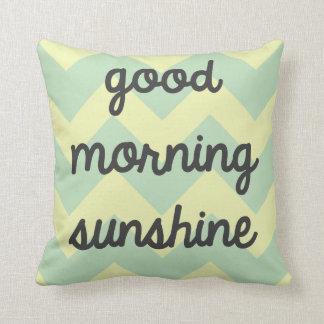 Gutenmorgen-Sonnenschein-Kissen Kissen