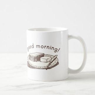 Gutenmorgen-Toast Tasse