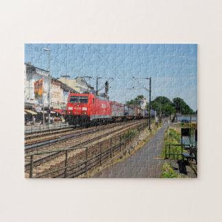 Güterzug in Rüdesheim am Rhein Puzzle