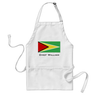 Guyana-Flagge Schürze