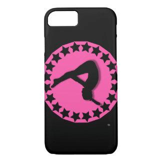 Gymnast im Rosa iPhone 8/7 Hülle