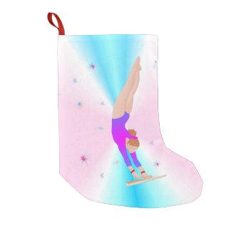 Gymnastik - Fliegen-Mädchen-WeihnachtsStrumpf Kleiner Weihnachtsstrumpf