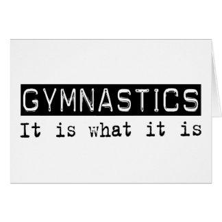 Gymnastik ist es karte