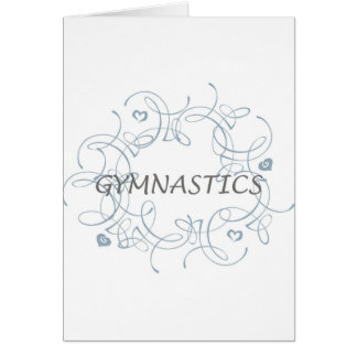 Gymnastik mit Strudel Karte