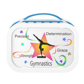 Gymnastik - Präzisions-Stärken-Entschlossenheit Brotdose