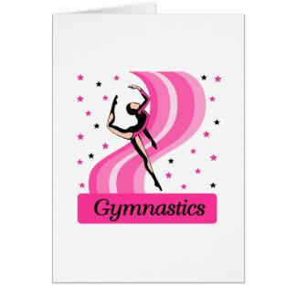 Gymnastik-Sprung Karte