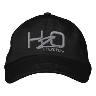 H2OChurch.tv = gestickter Logo-Hut Baseballcap