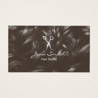 Haar-Stylist-Friseur-Haar-Salon Visitenkarte