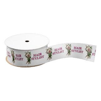 Haar-Stylist-Rose Ripsband