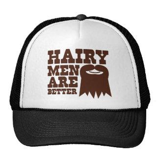 Haarige Männer sind BESSER! mit einem Spitzbart un Baseballcap