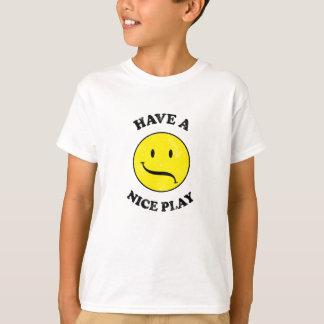 HABEN SIE EIN NETTES SPIEL! Theater-Entwurf T-Shirt