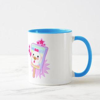 Haben Sie EINEN COOLEN Morgen-HahnEiscreme-Pop - Tasse