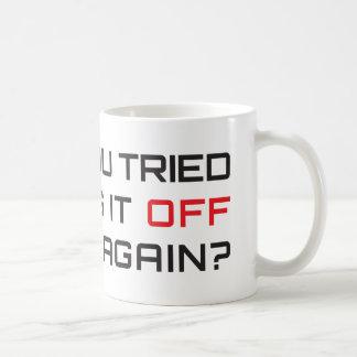 Haben Sie versucht, es mit Unterbrechungen zu Tasse
