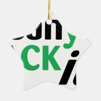 HACKON=HackAll Keramik Stern-Ornament